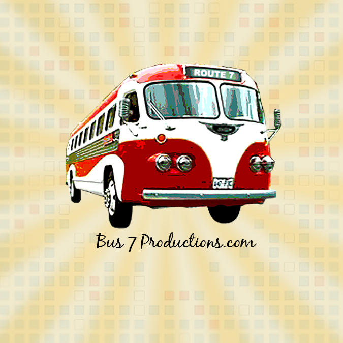 Bus 7 Productions sticker3
